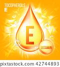 e, vitamin, vector 42744893