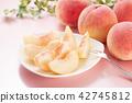 백도, 복숭아, 과일 42745812