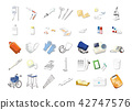 Medical instrument icon 42747576