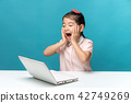 소녀, 한국인, 초등학생 42749269