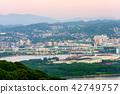 City View, cityscape, evening scene 42749757