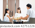 Young family (dining table) 42751226