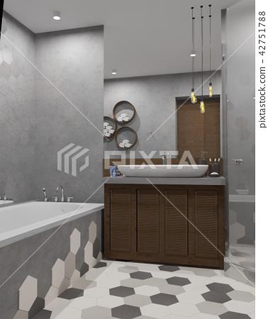 bathroom, interior, bath 42751788