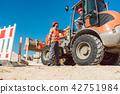 site, construction, worker 42751984
