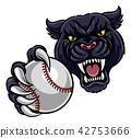 panther, ball, black 42753666
