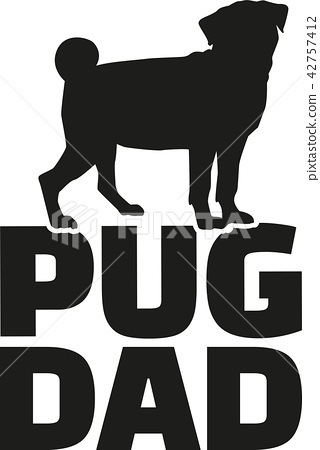 Pug dad 42757412