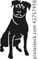 rottweiler, dog, pet 42757456