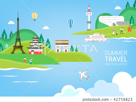 Exciting summer trip 42758823