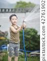 생활,정원,어린이,한국인 42761902