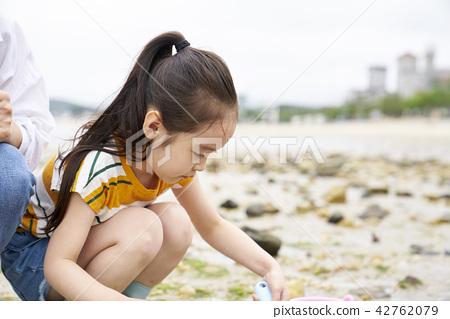 Sea, hands-on learning, Korean 42762079