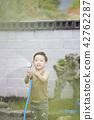 남자, 물주기, 어린이 42762287