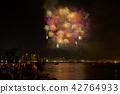 효고 부두에서 바라본 미나토 고베 해상 불꽃 놀이 (2018 년) 42764933