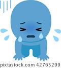 คนกำลังร้องไห้ด้วยมือ 42765299