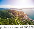 landscape, sea, hill 42765379