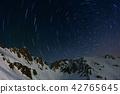雪山 夜景 星圖 42765645