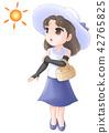防紫外线 紫外线保护 夏天 42765825