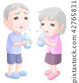保湿 中暑 老人 42765831