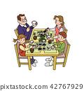 가족, 패밀리, 식사 42767929