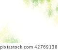 新的綠色水彩背景例證 42769138