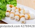 Meat ball Components for making shabu or Sukiyaki 42769428