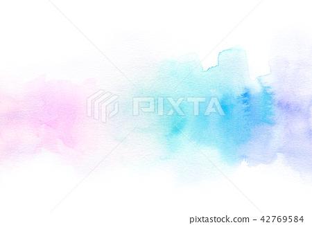 背景材料水彩紋理 42769584