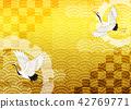 일본식 디자인 배경 이미지 42769771