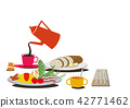 egg, dishes, food 42771462