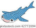 whale shark, fish, fishes 42772094