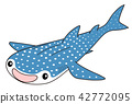 whale shark, fish, fishes 42772095