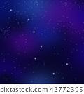 북두칠성과 밤하늘의 별빛 42772395