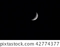 娥眉月 新月 月亮 42774377