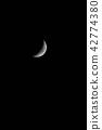 娥眉月 新月 月亮 42774380