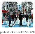 Steet in New York city 42775320