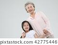 할머니, 가족, 행복 42775446