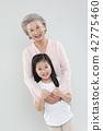 할머니, 가족, 행복 42775460