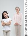 가족, 행복, 동양인 42775801