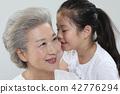 가족, 행복, 동양인 42776294