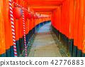 ศาลเจ้าเกียวโต Fushimi Inari Taisha Torii Torii 42776883
