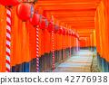 ศาลเจ้าเกียวโต Fushimi Inari Taisha Torii Torii 42776938