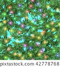 Seamless Christmas Background 42778768