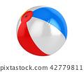 Colorful Beach Ball 42779811