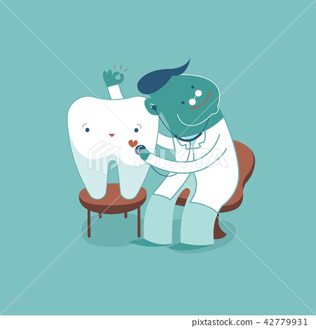 Dentist check up tooth for good healthy, dental co 42779931