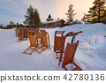 Sunrise is winter 42780136