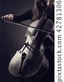violoncello, music, musician 42781306