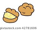 奶油泡芙 42781606