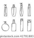Line spray bottle beauty set 42781883