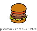 burger, burgers, hamburger 42781976