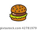 burger, burgers, hamburger 42781979