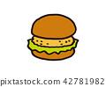 burger, burgers, hamburger 42781982
