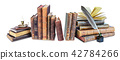 Composition of old books 42784266